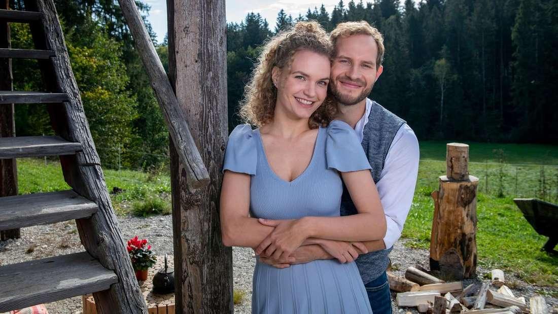 """Maja und Florian – das aktuelle Traumpaar der 17. Staffel von """"Sturm der Liebe"""""""
