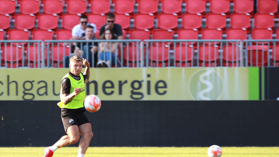 Fotos von der Mannschaftsvorstellung des SV Sandhausen.