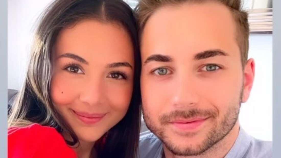 Katharina und Niko schauen in die Kamera (Screenshot von Instagram)