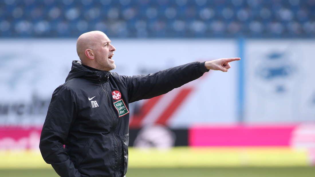 Trainer Marco Antwerpen steckt mit dem FCK tief im Abstiegskampf.