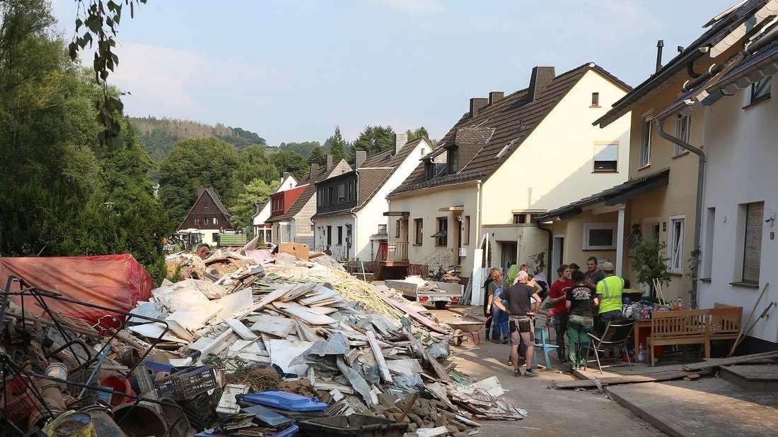 Nach dem Unwetter in NRW