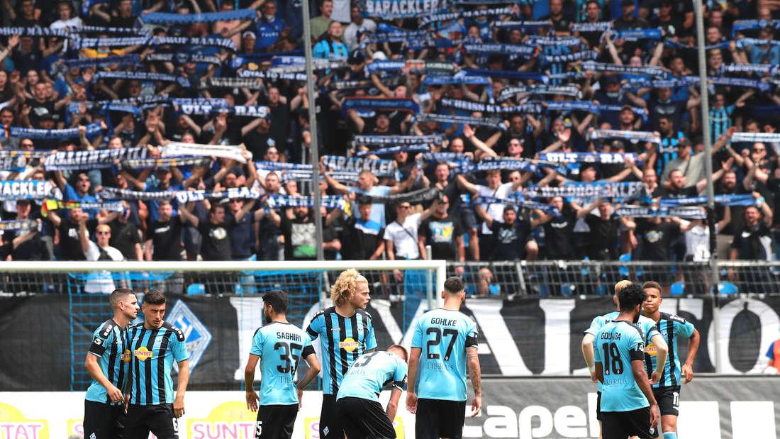 Der SV Waldhof verliert am Samstag gegen den 1. FC Magdeburg.