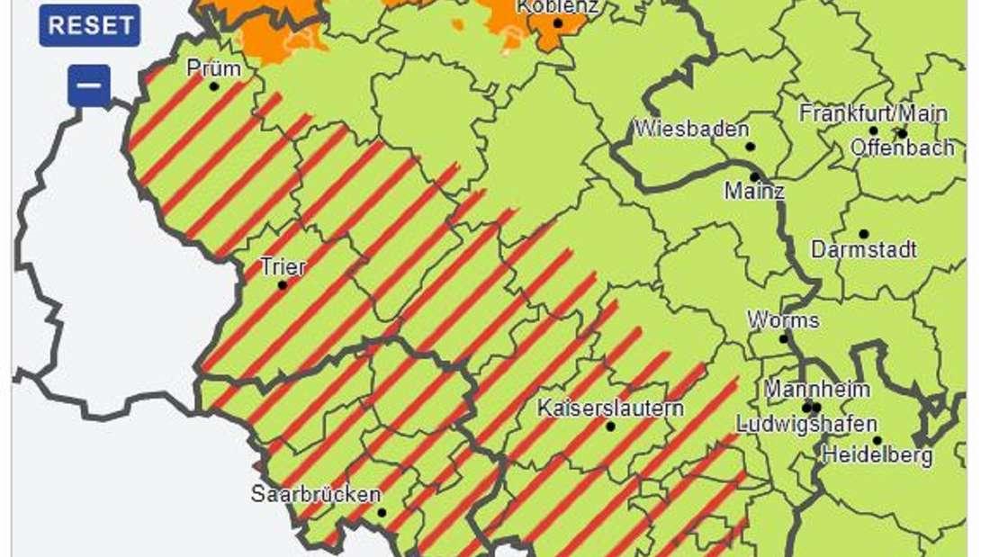 Der Deutsche Wetterdienst prognostiziert erneut schwere Gewitter in den Hochwasser-Regionen in Rheinland-Pfalz.