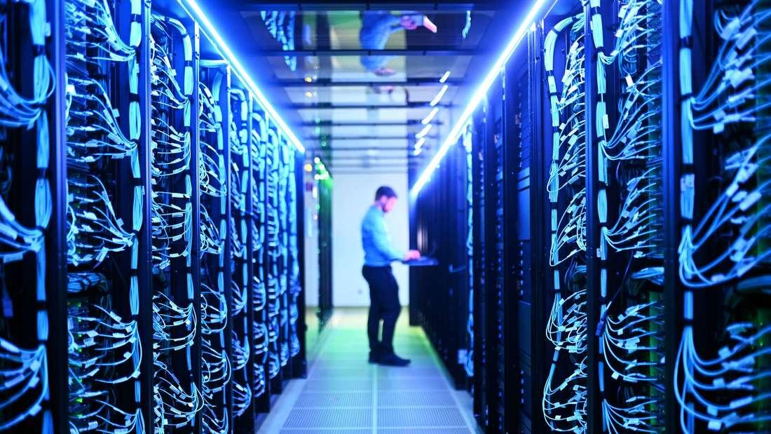 Die Server des neuen Hochleistungsrechner Horeka: Besonders energieffizient und leistungsstark.