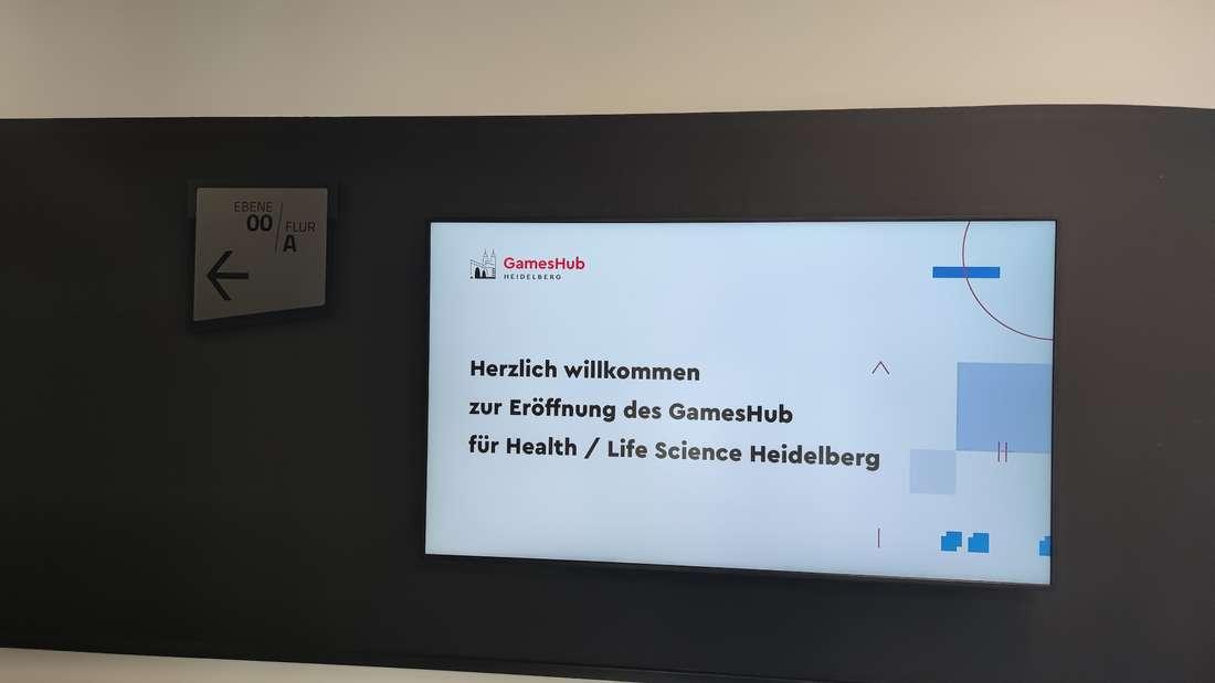 Am Montagabend (27. Juli) wird der GamesHub in Heidelberg eröffnet.