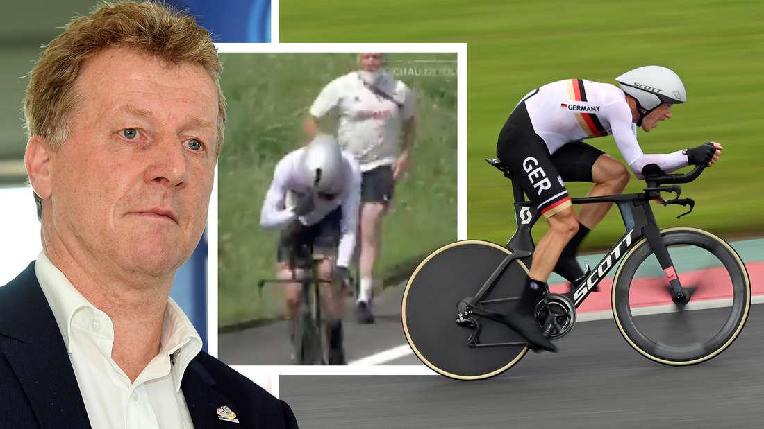 Rad-Sportdirektor Patrick Moster muss Tokio nach seiner Entgleisung verlassen.