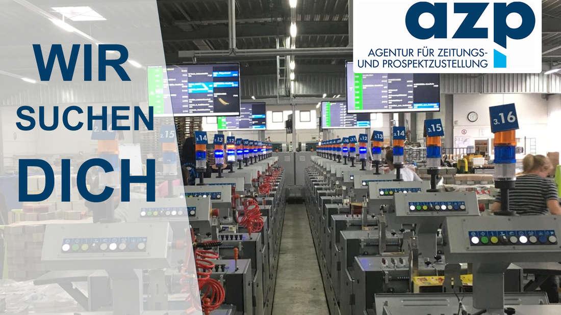 azp in Weinheim sucht Produktionshelfer.