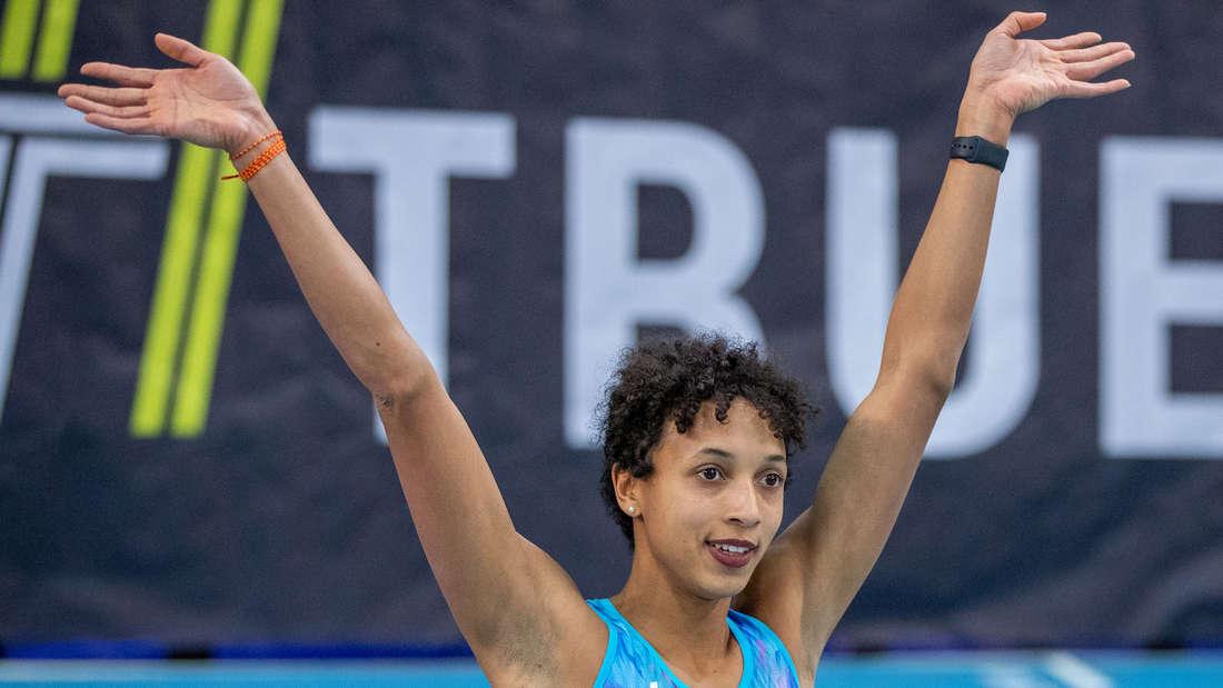 Malaika Mihambo will bei Olympia in Tokio eine Medaille holen.