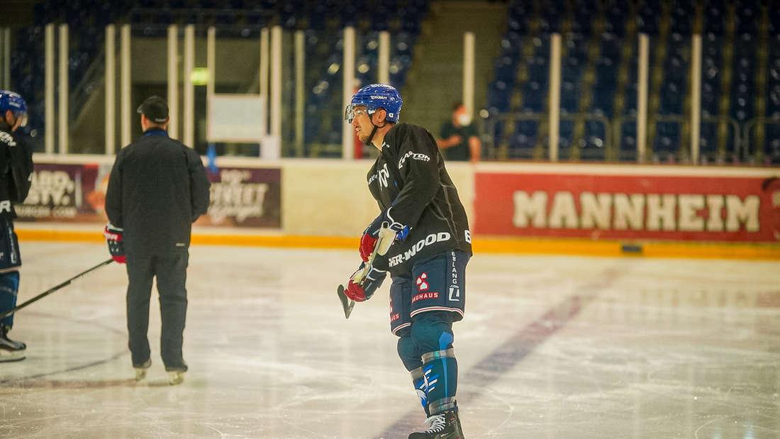 Fotos vom Trainingsauftakt der Adler Mannheim