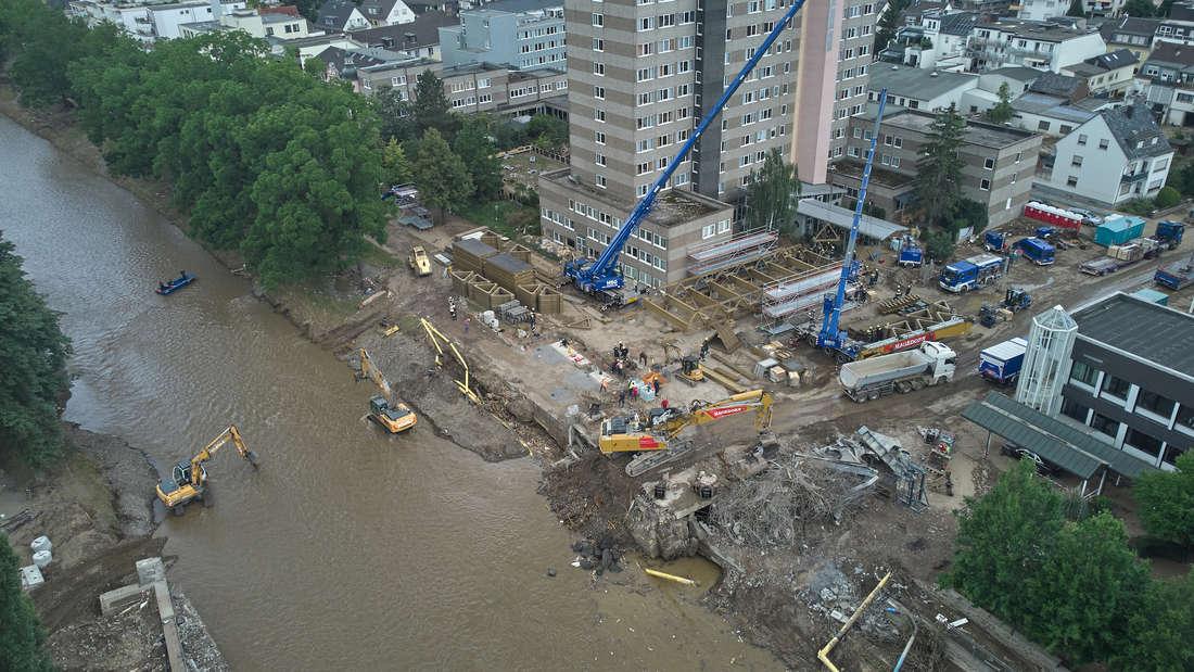 Nach der Hochwasserkatastrophe - Bad Neuenahr-Ahrweiler