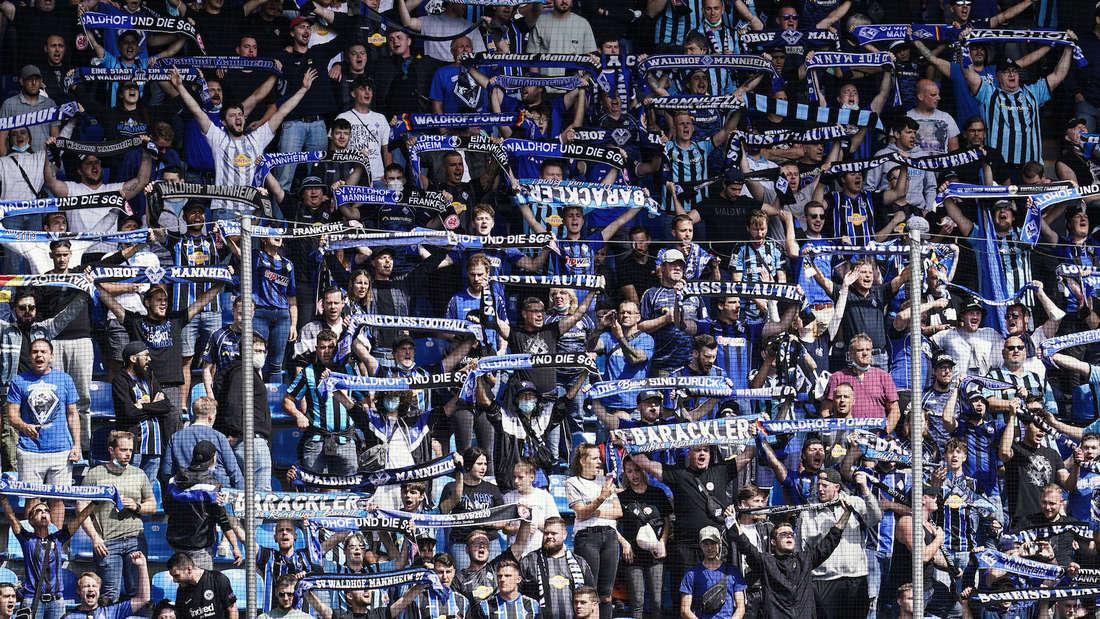 Über 12.000 Zuschauer dürfen am Sonntag ins Carl-Benz-Stadion.