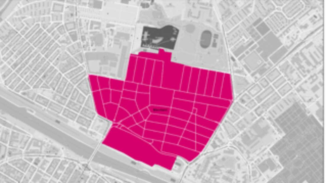 Glasfaser-Ausbaugebiet Mannheim Neckarstadt Ost