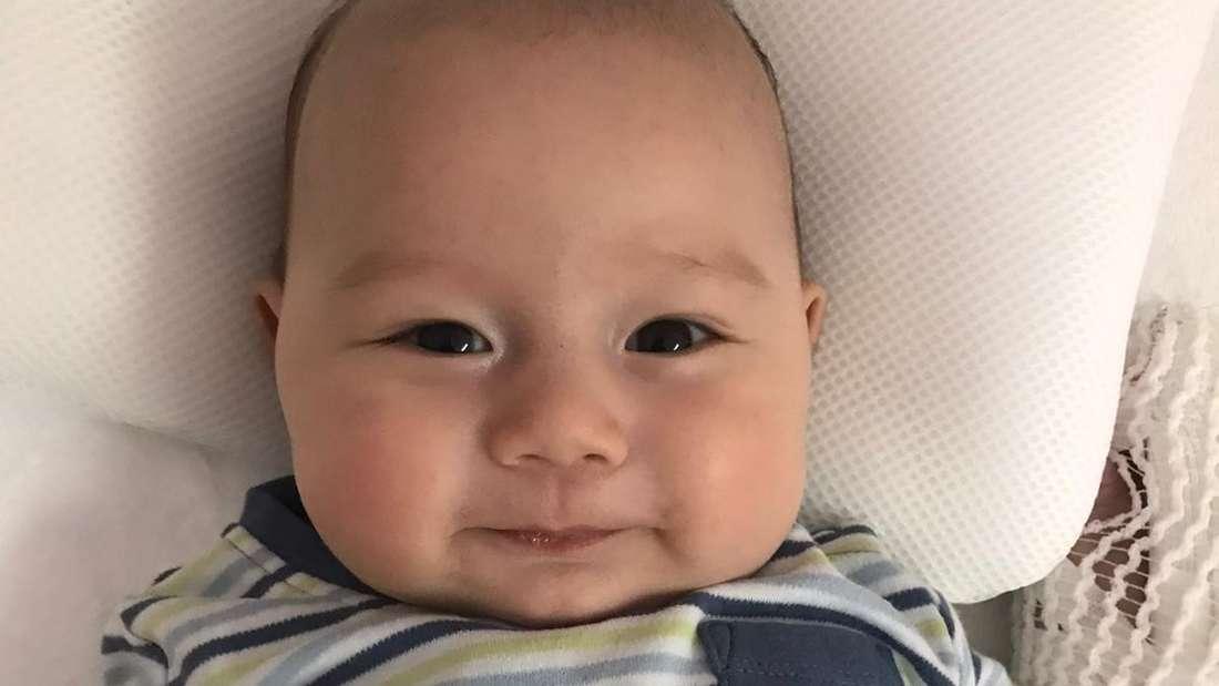 Der kleine Keanu braucht dringend eine Stammzellenspende, um zu überleben.