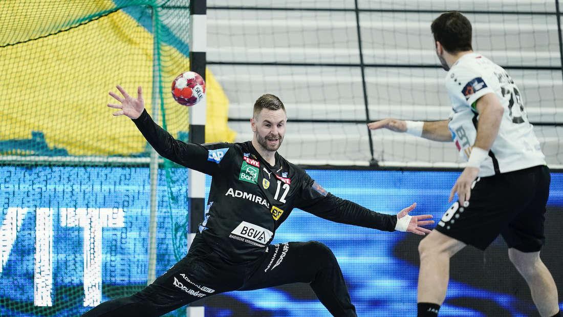 Andreas Palicka wird den Löwen vorerst fehlen.