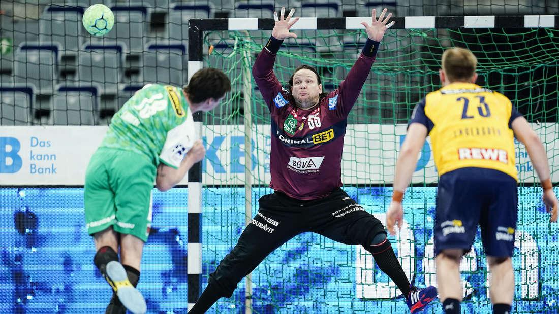 Nikolas Katsigiannis stand bereits in der Vorsaison bei den Rhein-Neckar Löwen im Tor.