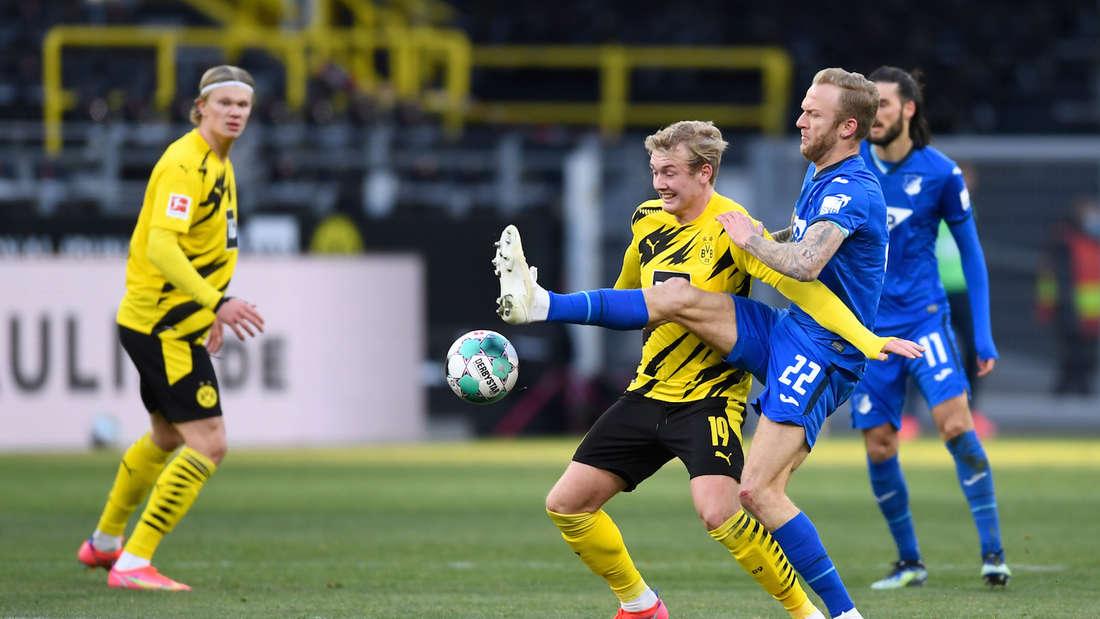 Die TSG Hoffenheim gastiert bei Borussia Dortmund.
