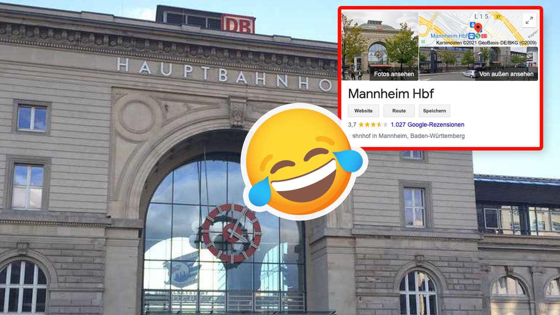 Der Mannheimer Hauptbahnhof.