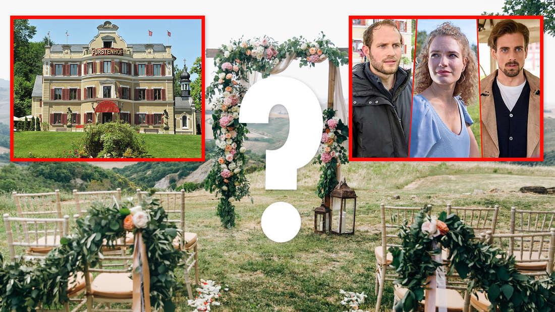Sturm der Liebe: Das 17. Staffelfinale inklusive Traumhochzeit könnte im Oktober oder November ausgestrahlt werden.
