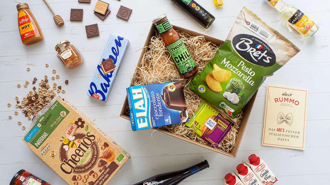 Jeden Monat befinden sich andere Produkte in der Degusta Box.