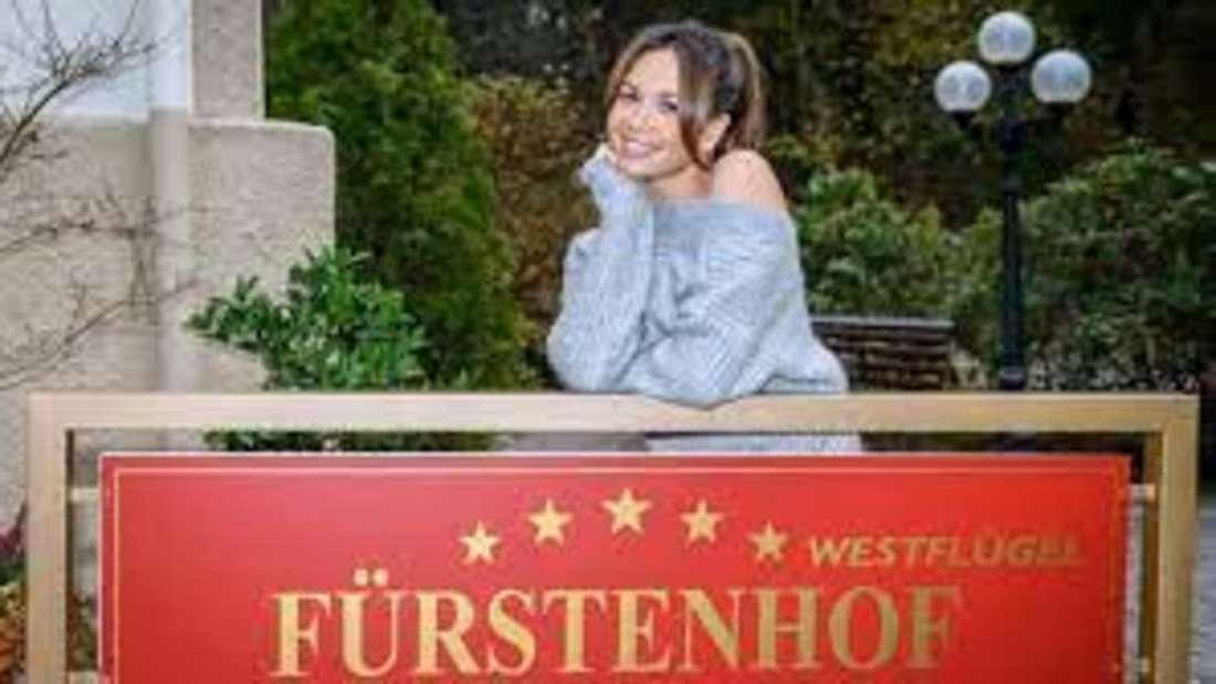 """Mandy Capristo bei """"Sturm der Liebe"""""""