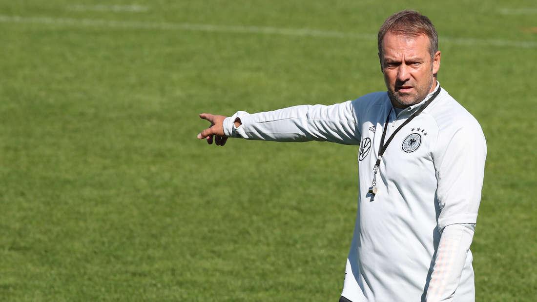 Hansi Flick feiert seine Bundestrainer-Premiere gegen Liechtenstein.