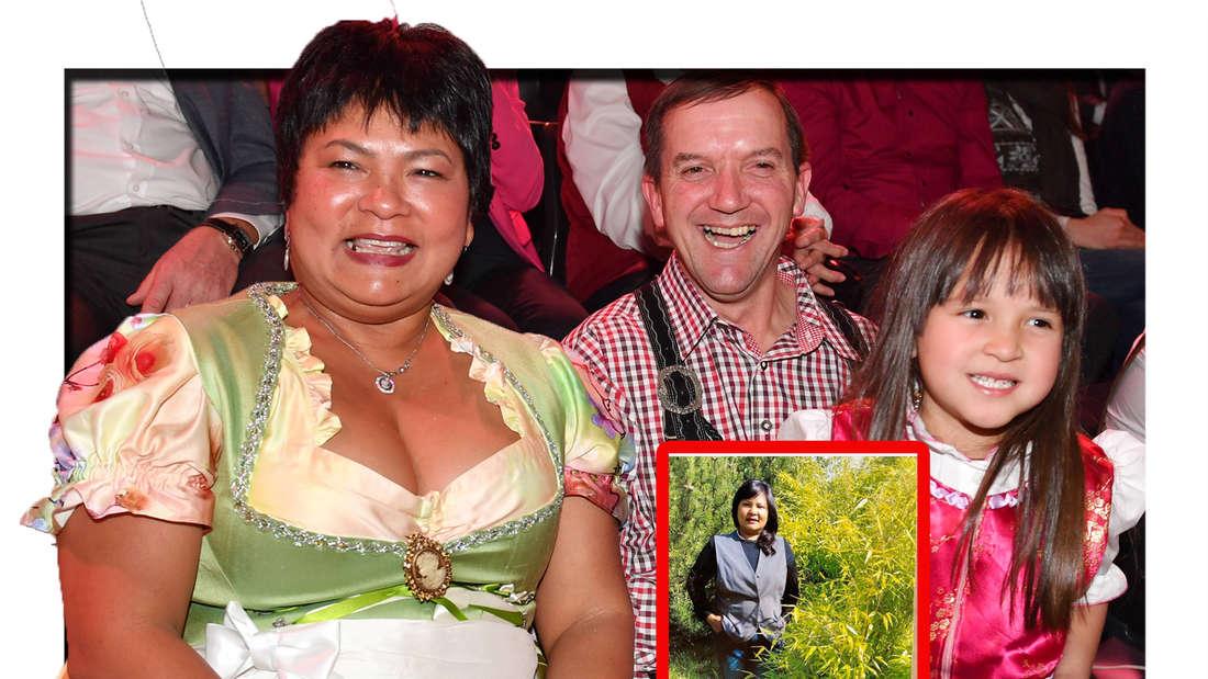 Völlig verändert: Fans feiern Bewerbungsfoto von Narumol bei Bauer sucht Frau (Fotomontage)