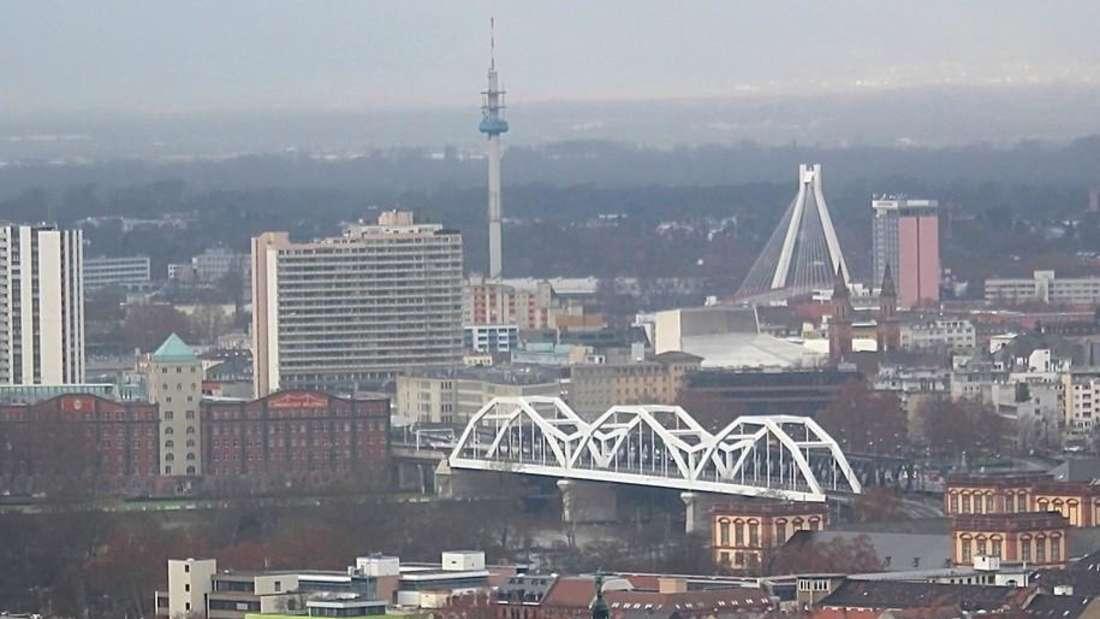 Ludwigshafen Brücke Stadtbild