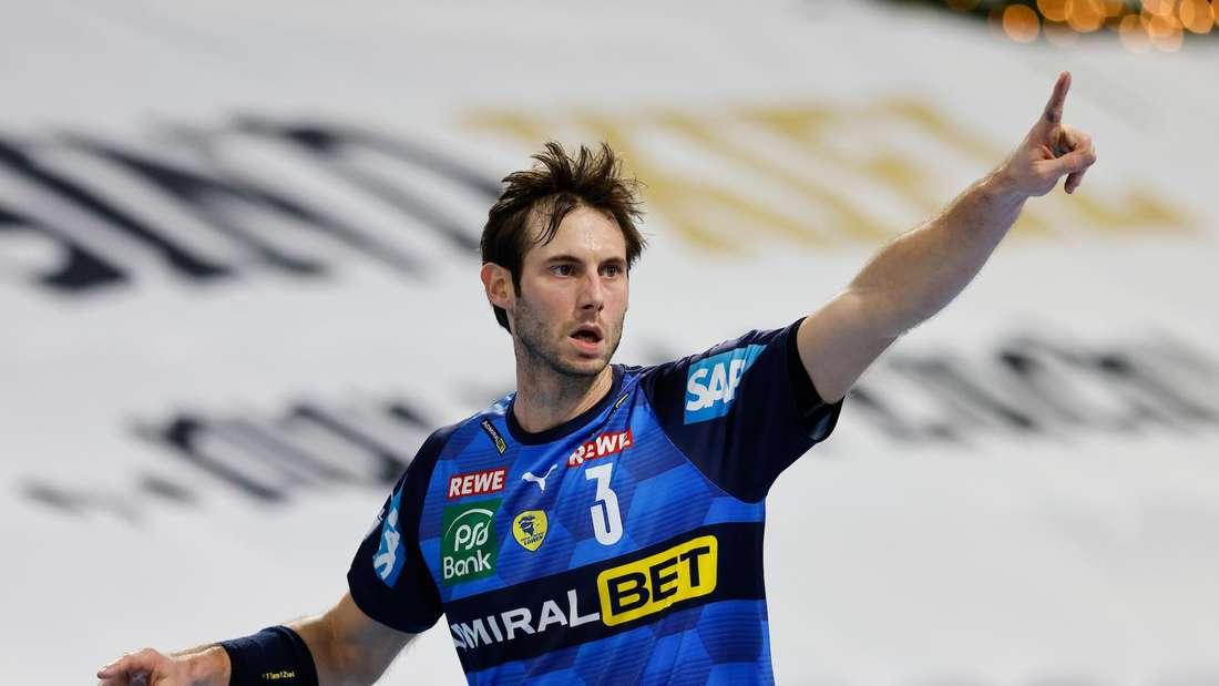 Uwe Gensheimer ist auch in der Saison 2021/22 der Kapitän der Rhein-Neckar Löwen.