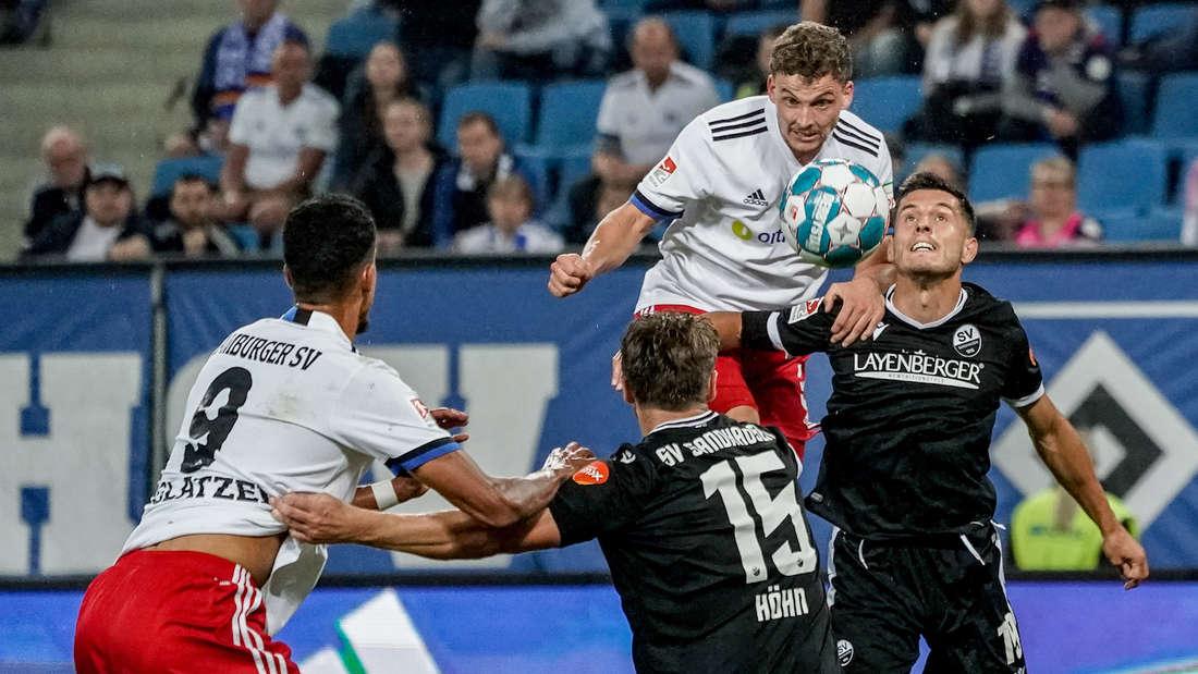 Live-Ticker: Der Hamburger SV empfängt den SV Sandhausen. (Archivfoto)