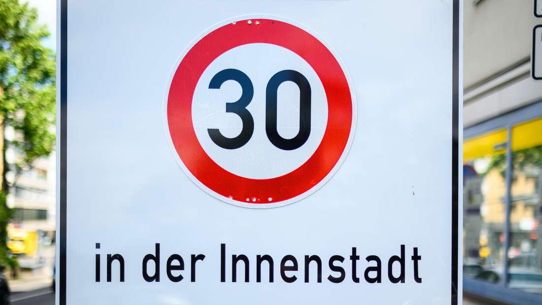 Einrichtung einer Tempo-30-Zone