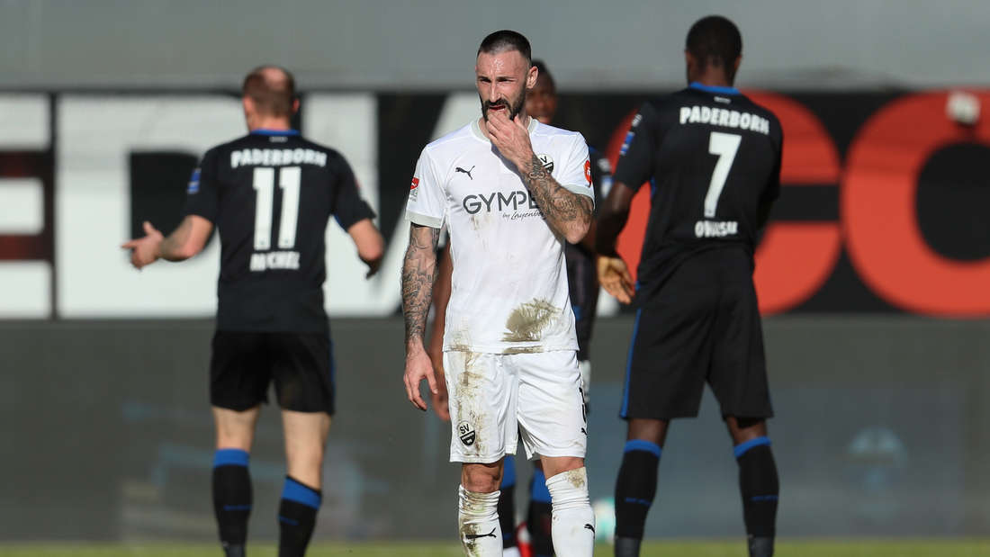 Diego Contento hat den SV Sandhausen im Sommer 2021 verlassen.