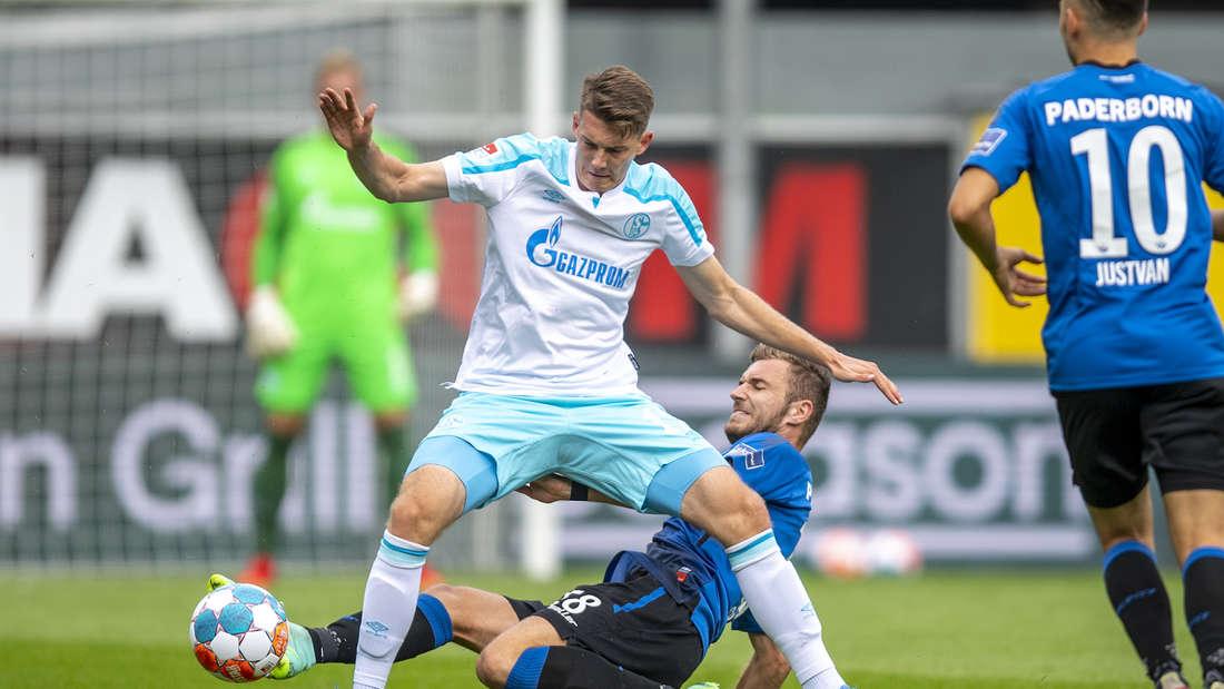 Der FC Schalke 04 hat am Sonntag mit 1:0 in Paderborn gewonnen.