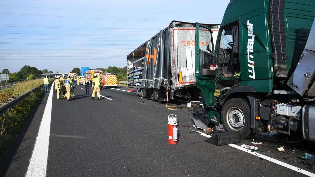 Am Dienstag (14. September 2021) muss die A61 zwischen Speyer und Hockenheim nach Unfällen in beiden Fahrtrichtungen voll gesperrt werden.