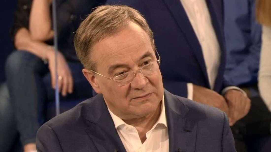 In der ARD-Wahlarena mit knallharten Fragen konfrontiert: CDU-Kanzlerkandidat Armin Laschet.