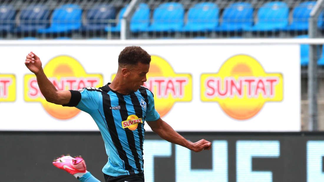 Marcel Costly trifft mit dem SV Waldhof auf den Halleschen FC.
