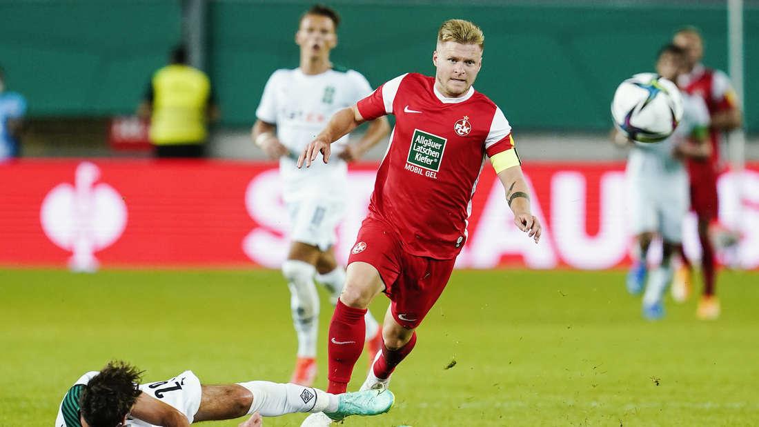 FCK-Kapitän Jean Zimmer fällt gegen Verl aus.