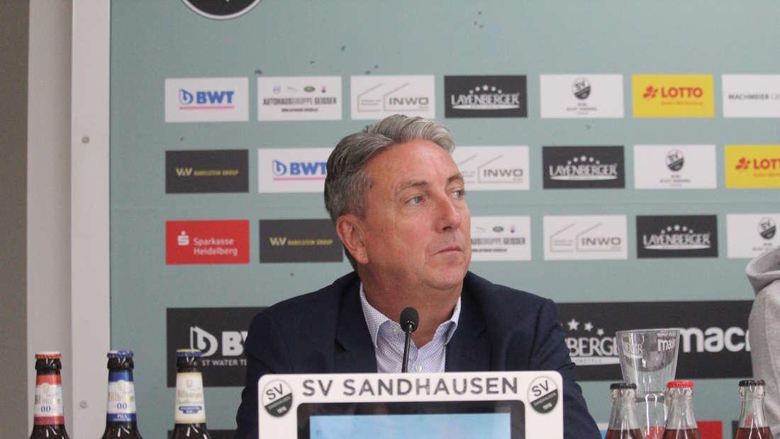 Sandhausen-Präsident Jürgen Machmeier.