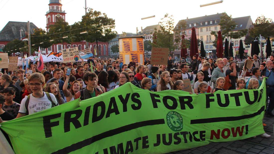 """Tausende Menschen demonstrieren bei """"Fridays for Future"""" in Mannheim. (Archivfoto)"""