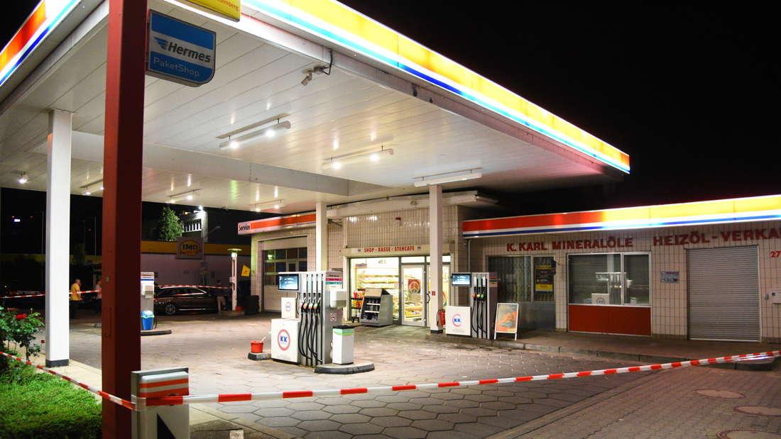 Eine KK-Tankstelle
