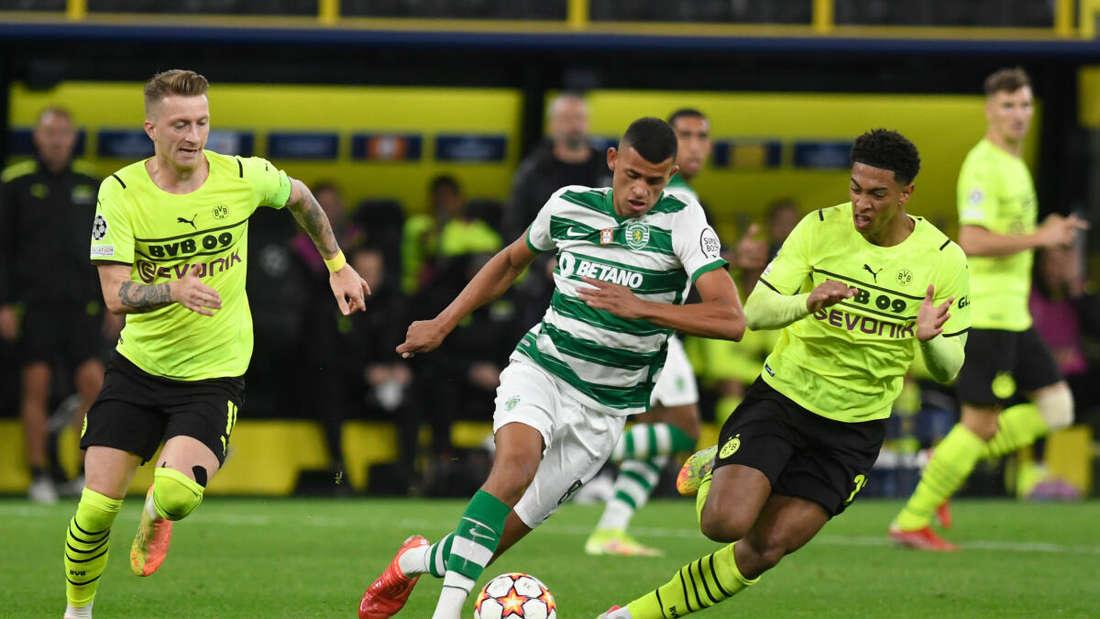 Mit dem BVB gegen Sporting Lissabon gefordert: Kapitän Marco Reus (li.).