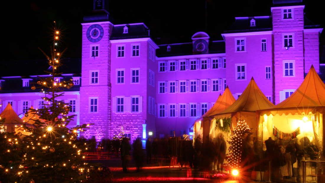 Weihnachtsmarkt in Schwetzingen