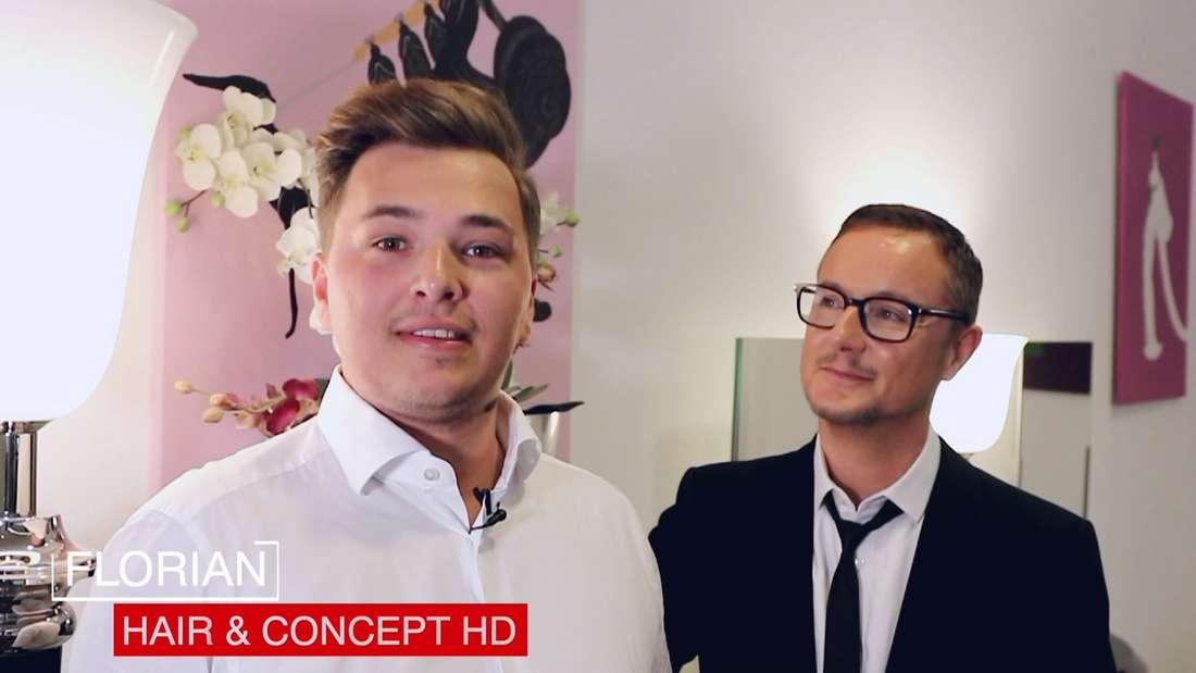 Erfolgsgeschichte: Florian Reiff übernahm den Salon von Joël Style in Heidelberg