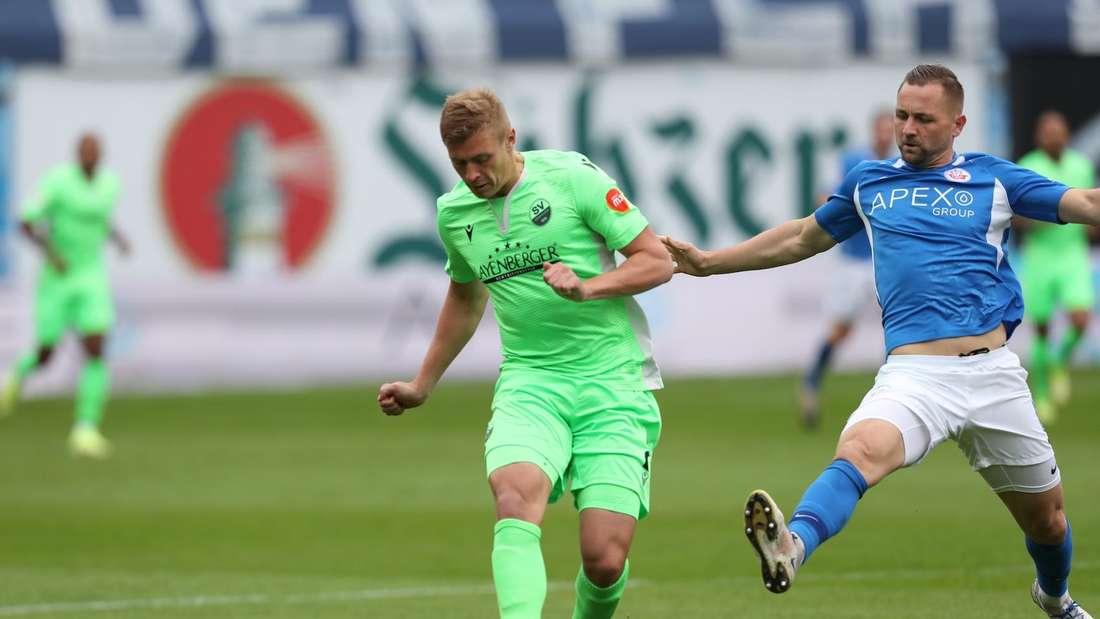 2. Bundesliga: Hansa Rostock - SV Sandhausen